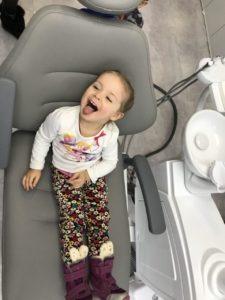 Стоматология для детей на Позняках Вайт Клиник. Наш пациент