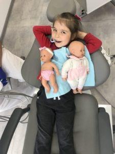 Маленький пациент детской стоматологии White Clinic